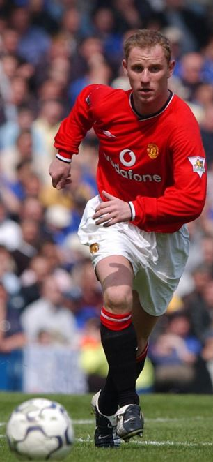 Tenacious: Nicky Butt was a real thorn in Manchester United's midfield in the 90's