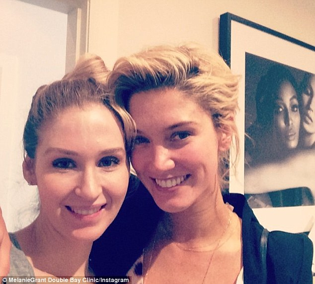 She's a pro: LA-based Delta Goodrem makes sure to stop by Grant's for a facial treatment when in Sydney