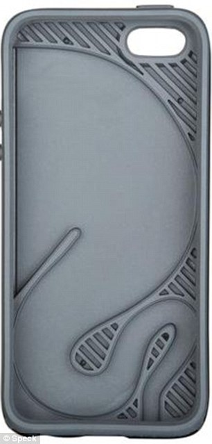 The case comes in black with a grey interior (pictured), blue and pink