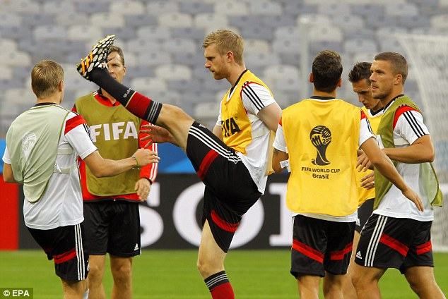 Final chance: Per Mertesacker is aiming to win the World Cup with Germany
