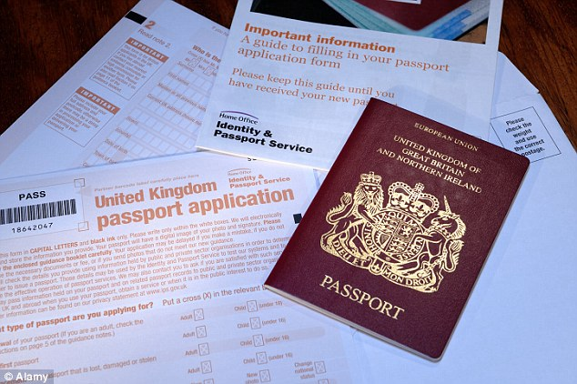 Lucrative: Despite the problems, the Passport Office is set to make £50 million in profit this year