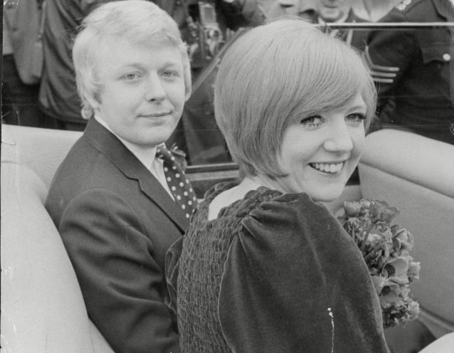 Bobby's girl: Cilla (right) marries Bobby Willis in 1963 and had three sons by him and a daughter who died after only two hours