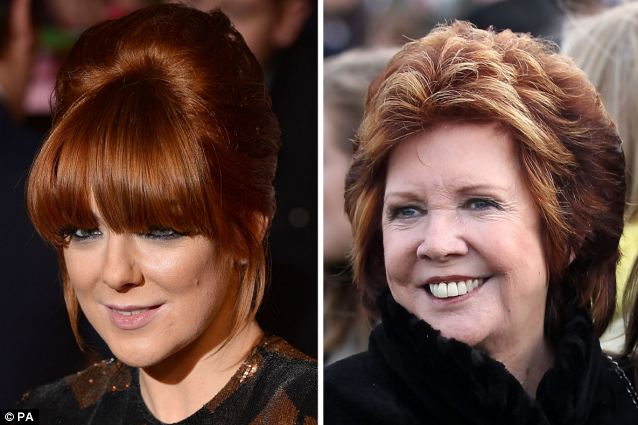 Lookalikes: Sheridan Smith (left) is due to play Cilla (right) in a three-part ITV series