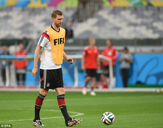 Get it right: Mertesacker says Germany have to be at their best