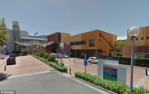 The infant was rushed to the Children's Hospital at Westmead (pictured) on Wednesday afternoon and is currently in a critical but stable condition