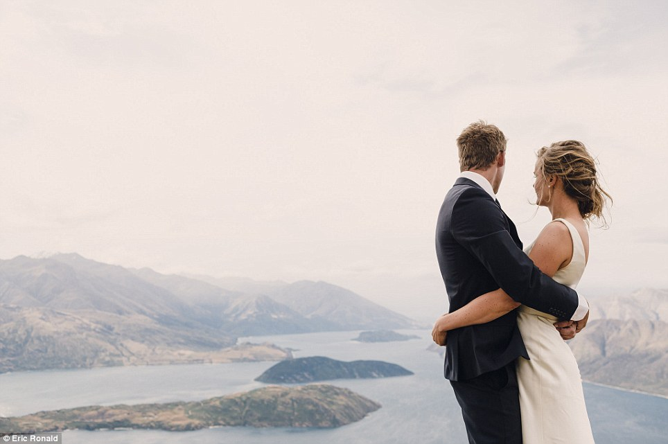 Belinda and Campbell's wedding took place in a wool barn in New Zealand which 125 guests attended. The duo met through a mutual friend and moved to Melbourne, but plan to relocate back to their hometown