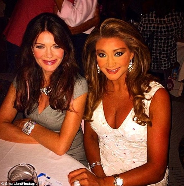 Together at last! Real Housewives Of Melbourne star Gina and her Beverly Hills counterpart Lisa had dinner in Hollywood last month, no doubt discussing the trials and tribulations of gang warfare on reality TV