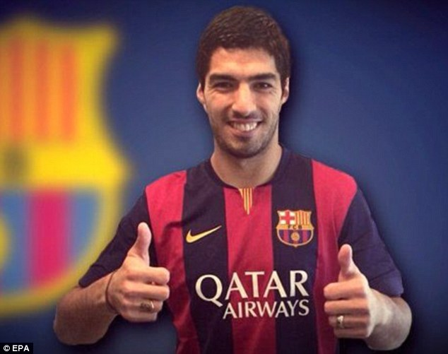 Thumbs up: Stoke hope Liverpool will lower their fee for Assaidi after selling Luis Suarez to Barcelona
