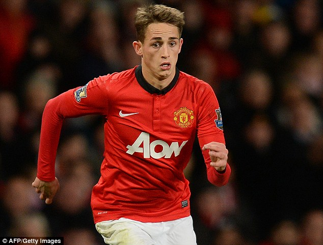 First teamer: Januzaj became a regular member of Manchester United's senior side last season