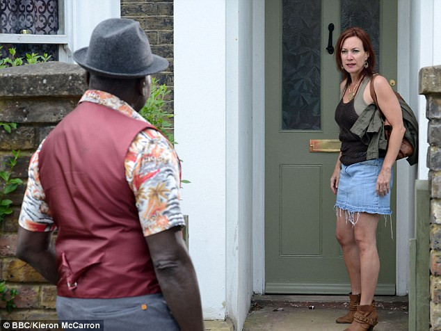 Looking for trouble: On last week's episode Patrick ran into Rainie who was looking for Ian