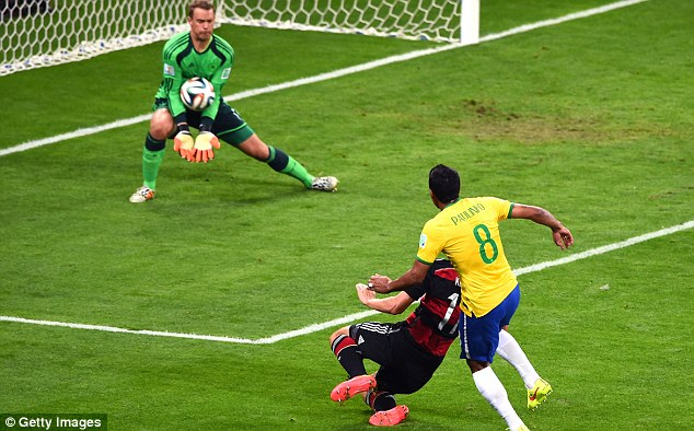 The Bayern Wall: Manuel Neuer has been immense in goal for the Germans
