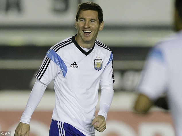 I(n the mood? Argentina will need Lionel Messi to be at his best if they're to triumph