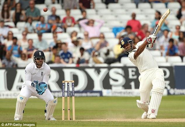 Take a bow: Stuart Binny scored a half century on his Test debut