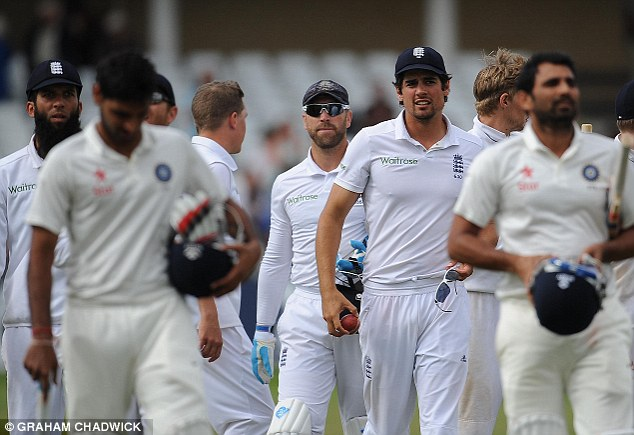 Even Stevens: The draw against England extends India's winless overseas run to 15