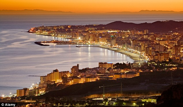 Safe: The family are now based in the resort of Fuengirola, which is a favourite among British holidaymakers