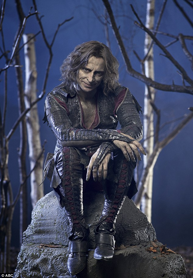 Dreamy: Robert in his role as Rumpelstiltskin/Mr. Gold on Once Upon A Time