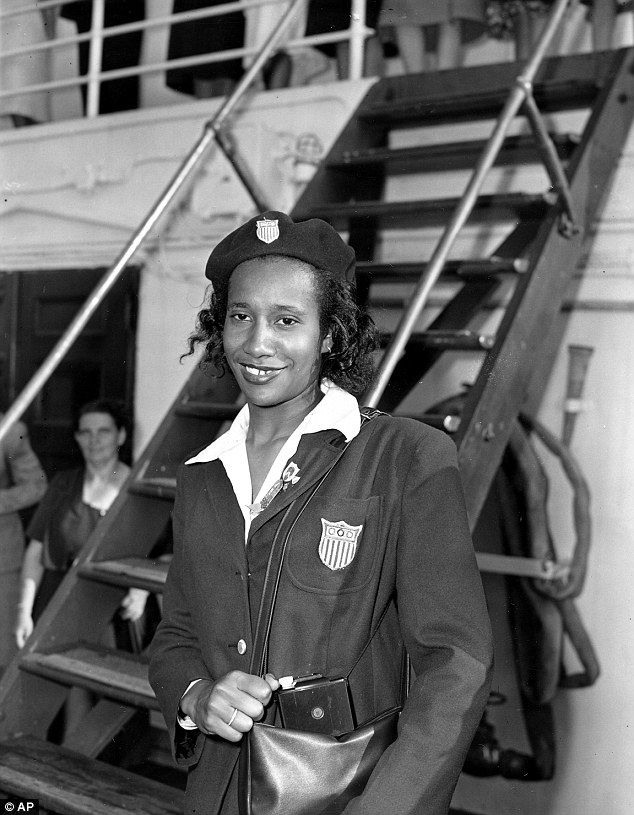 First: Davis became the first black woman to win an Olympic gold medal for her high jump performance in the 1948 Olympics
