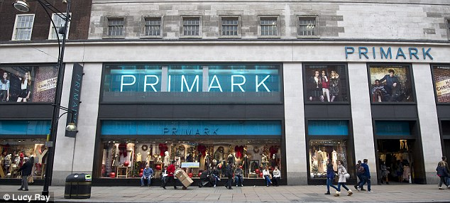 Faller: Primark owner Associated British Foods was 53p lower today.
