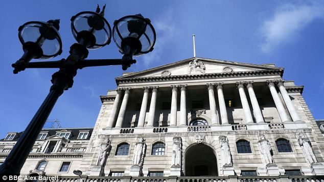 Rate caution: A spike up in inflation last month puts pressure on the Bank of England to raise interest rates sooner rather than later
