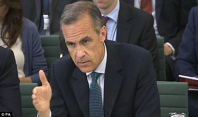 Rate speculation: BoE Governor Mark Carney appeared before UK lawmakers this morning, but on the subject of rate hikes all he said was that the rate cycle 'will be driven by the data.'
