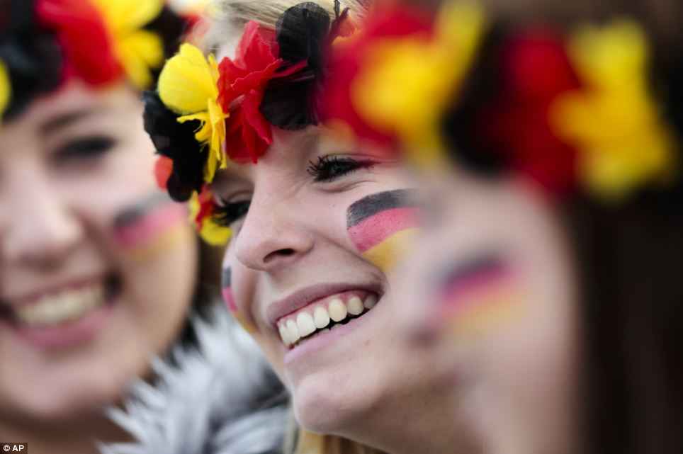 Germany fans across the world have been celebrating since the dramatic last-gasp winner from Mario Götze in the World Cup final on Sunday