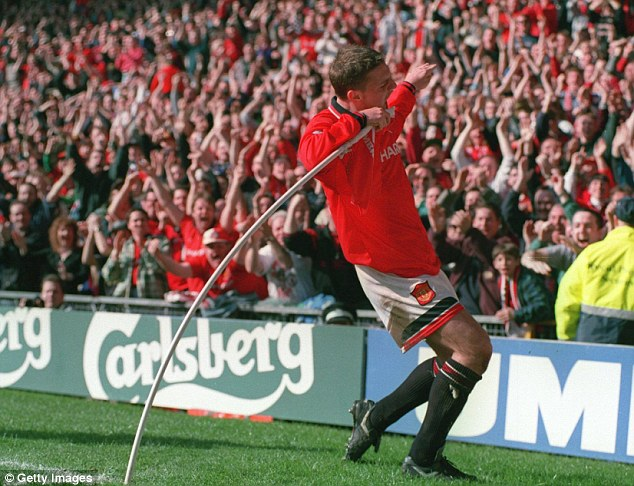 The Sharpey shuffle: Lee Sharpe was a fans' favourite but his antics would not wash with Alex Ferguson