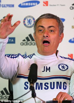 Revenge mission: Jose Mourinho will be desperate to land a third title for Chelsea having missed out last time