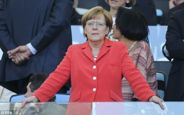 The prospect of German MPs reverting to typewriters comes a year after allegations surfaced that the mobile telephone of German Chancellor Angela Merkel, pictured, had been bugged by American agents