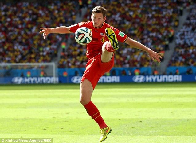 International: Vertonghen was part of the Belgium team that reached the World Cup quarter-finals