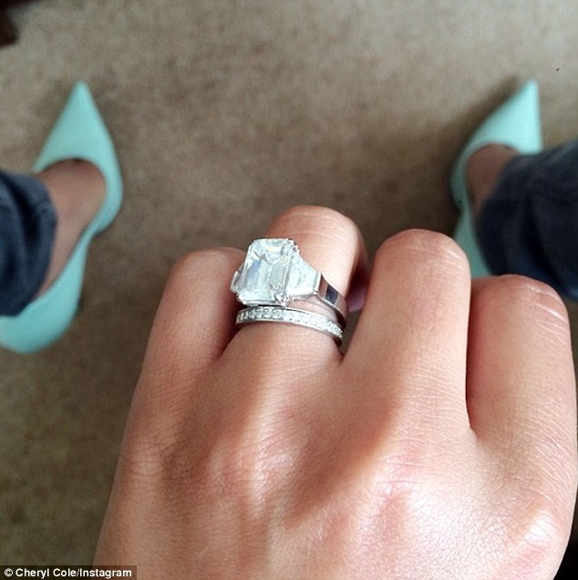 Whirlwind: Despite only being with JB for three months before tying the knot, Cheryl is not worried about her fortune