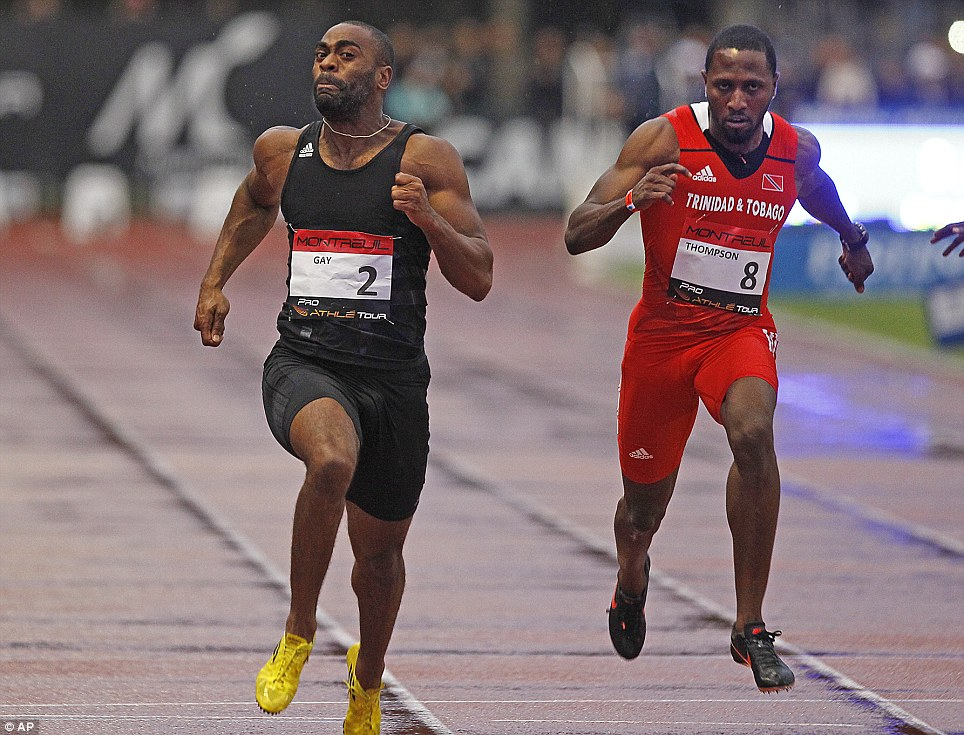Letting them back in too easy? Tyson Gay is another who has been banned over drugs in the past