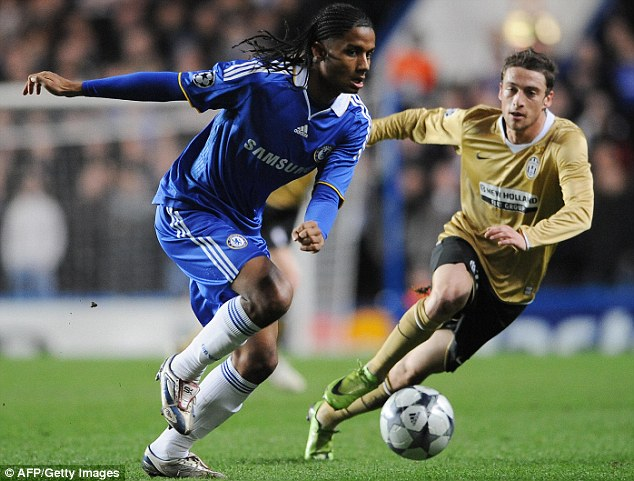 Rare: Mancienne played only four times for Chelsea during his five-year stint at Stamford Bridge