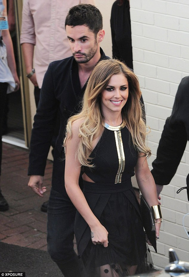 The language of love: Cheryl is thought to be learning French for her new man