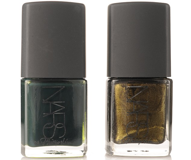 Pret-a-polish - One look at fashion designer Phillip Lim's lacquers for Nars and we couldn't resist splashing out on a whole new nail polish wardrobe. From the black bronze Insidious (right) to the inky green Shutter (left), all shades are based on the decadently dangerous colours Phillip imagines to exist 'in the shadows'. £15 each, narscosmetics.co.uk from 1 August.