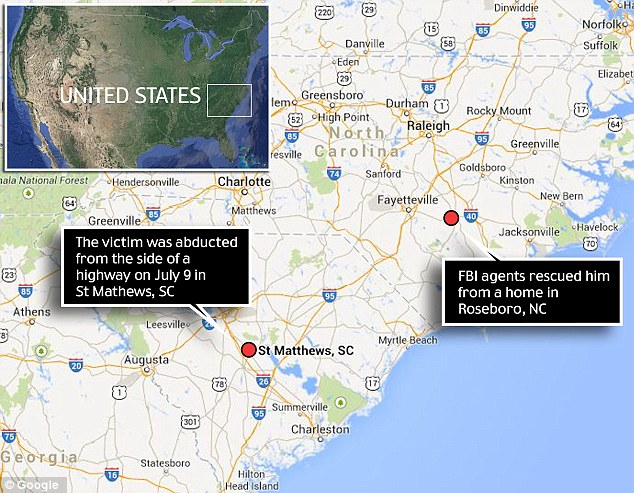 The kidnapping spanned two states - and the investigation involved several states and Mexico