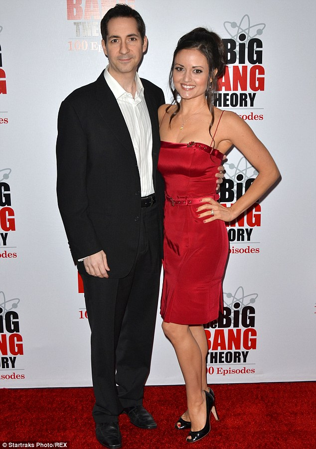 The ex: The beauty with Mike Verta, a music composer she divorced in 2013; here they are pictured in 2011