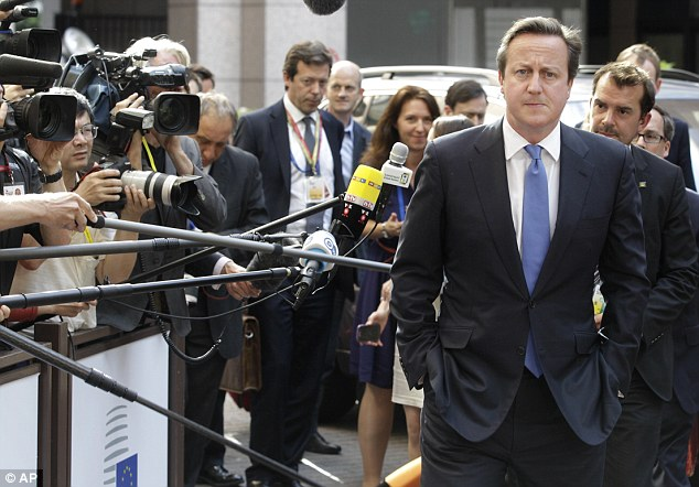 David Cameron, arriving in Brussels last night, has warned ECHR rulings have 'distorted' the concept of human rights