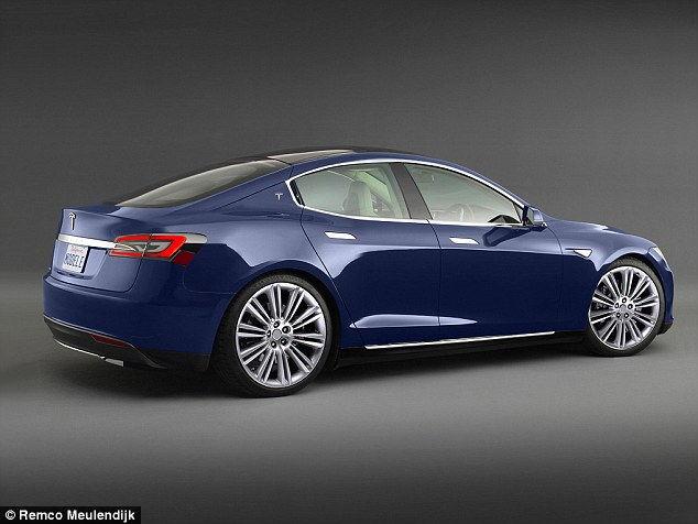 The Model III, a mid-sized luxury sedan (rendering shown), will first be unveiled in 2016, a year after the Model X Suv is released in early 2015, and will go on sale in 2017. It is apparently a competitor to compact executive cars like the BMW 3 Series and the Mercedes-Benz C-Class