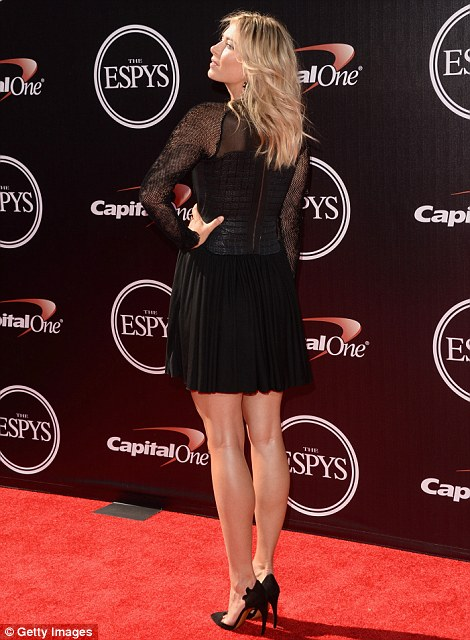 Tennis player Maria Sharapova attends The 2014 ESPYS