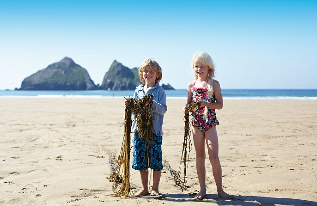 Can we come here every year please mum? One in nine UK children have never been on a British beach