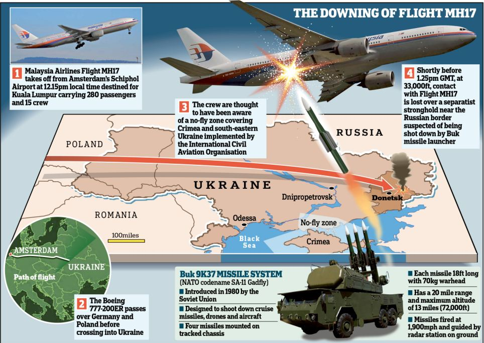 The downing of flight MH17
