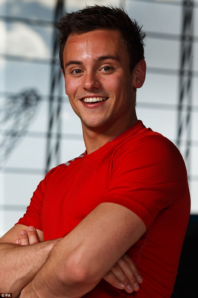 Glory: Diver Tom Daley won two medals in Delhi four years ago and he will look to add more in Glasgow