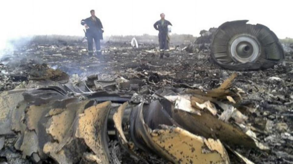 'Unspeakable horror': Emergency workers survey the wreckage of flight MH17, which came down in the Donetsk region of eastern Ukraine