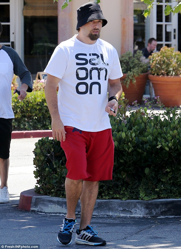 In case you weren't sure this was him: Rick wore a T-shirt with his last name on it during an outing in LA on Thursday, the day after his kissing session took place