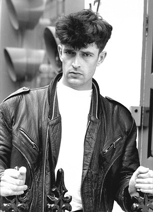 Tearaway: Rupert Everett as a younger man. He says, at 55, that he has mellowed