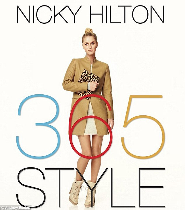 The write stuff: Nicky's book on developing your own sense of fashion, 365 Style, is due out in September