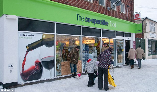 Strategic plan: The Co-op earlier this year announced it was to close 200 large supermarkets and focus on faster growing convenience store sector