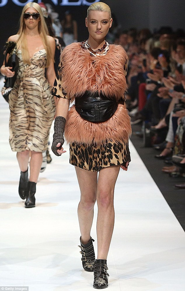 Runway ready: After winning Australia's Next Top Model in 2011, Montana has landed the role of celebrity style ambassador for retail giant David Jones