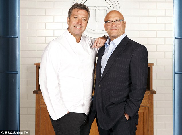 Terrifying: Judges John Torode and Gregg Wallace will decide which of the three goes home the winner