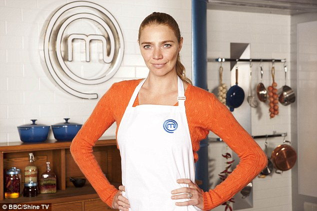 Chef: Despite not eating puddings for 15 years, former model Jodie Kidd, 35, is in the Celebrity Masterchef final